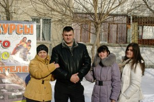 Инструктор Дербин Владимир Андреевич