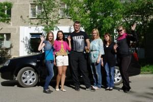 Дербин Владимир с курсантами