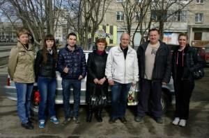 Александр Анатольевич с курсантами